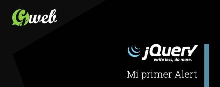 Crear un alert con jQuery